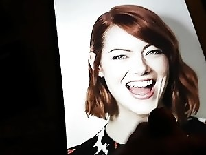 My 1. Cum Tribute for Emma Stone